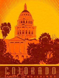 Time Machine Tuesday: Colorado Capitol Buildings