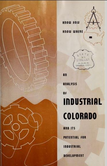 Time Machine Tuesday: Colorado Industry – 1955