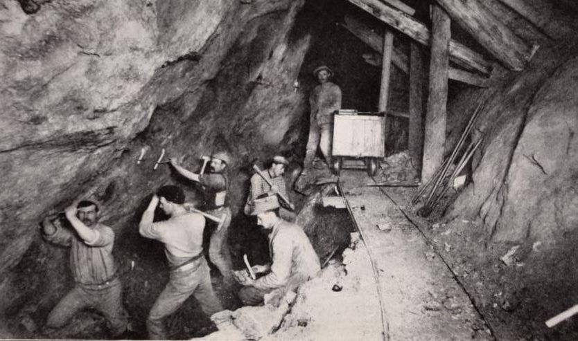 miner workers Seaton Mine Idaho Springs Colorado