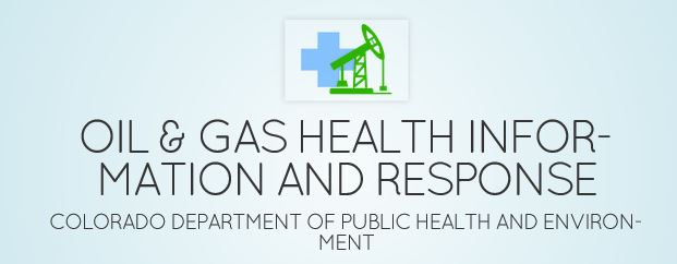 Oil and Gas Health Information and Response Program