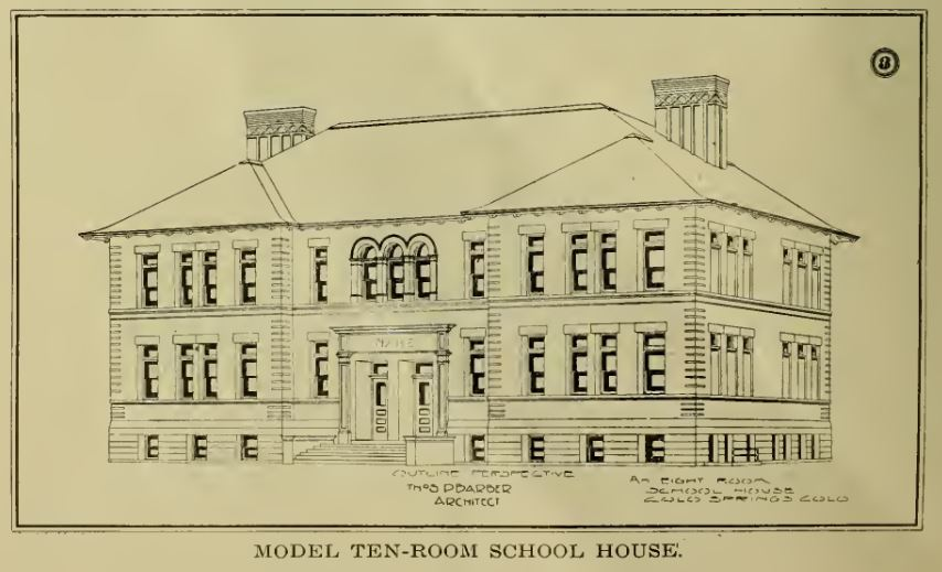 Time Machine Tuesday: Colorado School Buildings, 1910