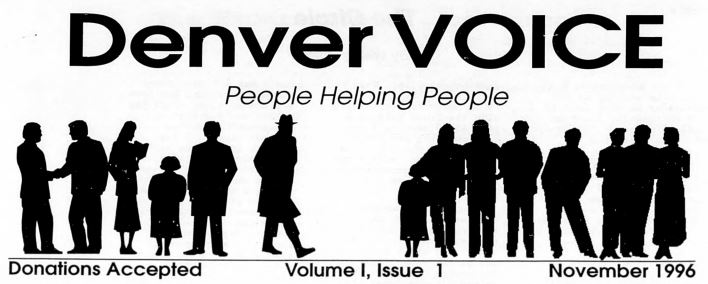 CHNC Proudly Welcomes The Denver Voice!